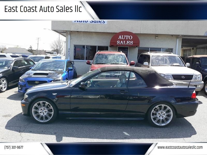 2005 BMW 3 Series for sale at East Coast Auto Sales llc in Virginia Beach VA