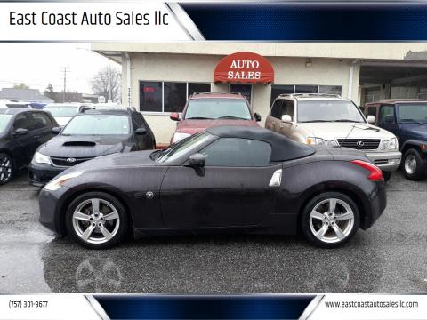 2012 Nissan 370Z for sale at East Coast Auto Sales llc in Virginia Beach VA