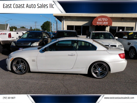 2012 BMW 3 Series for sale at East Coast Auto Sales llc in Virginia Beach VA