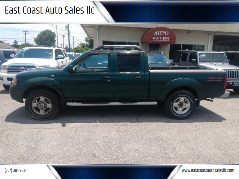 2002 Nissan Frontier for sale at East Coast Auto Sales llc in Virginia Beach VA