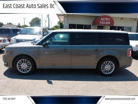 2014 Ford Flex for sale at East Coast Auto Sales llc in Virginia Beach VA