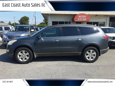 2010 Chevrolet Traverse for sale at East Coast Auto Sales llc in Virginia Beach VA
