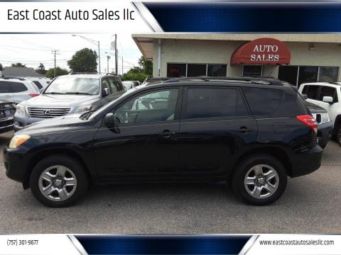 2010 Toyota RAV4 for sale at East Coast Auto Sales llc in Virginia Beach VA