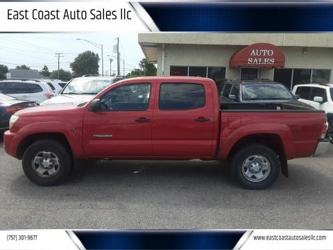 2011 Toyota Tacoma for sale at East Coast Auto Sales llc in Virginia Beach VA