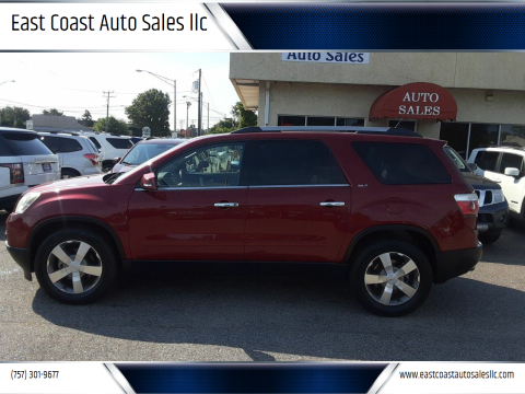 Gmc Acadia For Sale In Virginia Beach Va East Coast Auto Sales Llc