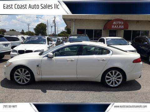 2009 Jaguar XF for sale at East Coast Auto Sales llc in Virginia Beach VA