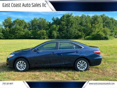 2015 Toyota Camry for sale at East Coast Auto Sales llc in Virginia Beach VA