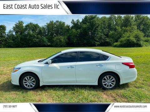 2016 Nissan Altima for sale at East Coast Auto Sales llc in Virginia Beach VA