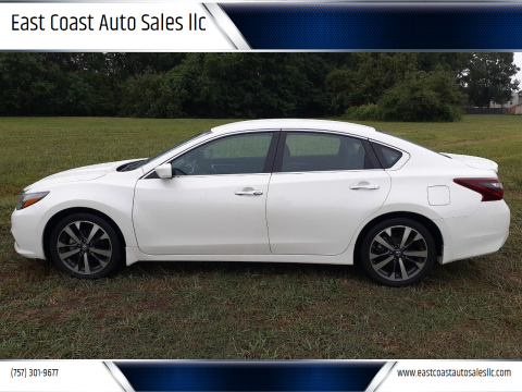2017 Nissan Altima for sale at East Coast Auto Sales llc in Virginia Beach VA