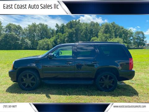 2007 Cadillac Escalade for sale at East Coast Auto Sales llc in Virginia Beach VA