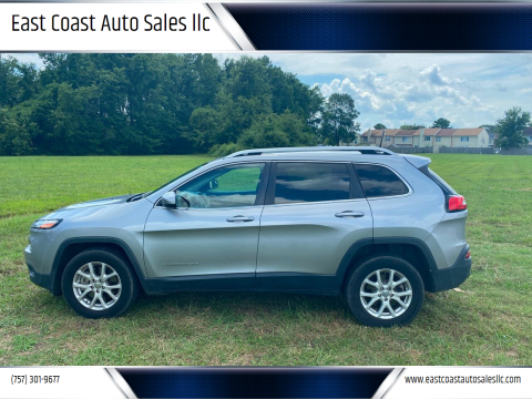 2017 Jeep Cherokee for sale at East Coast Auto Sales llc in Virginia Beach VA