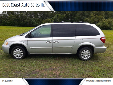 2006 Chrysler Town and Country for sale at East Coast Auto Sales llc in Virginia Beach VA