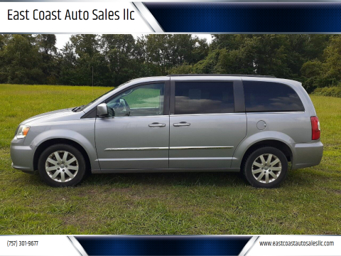 2014 Chrysler Town and Country for sale at East Coast Auto Sales llc in Virginia Beach VA