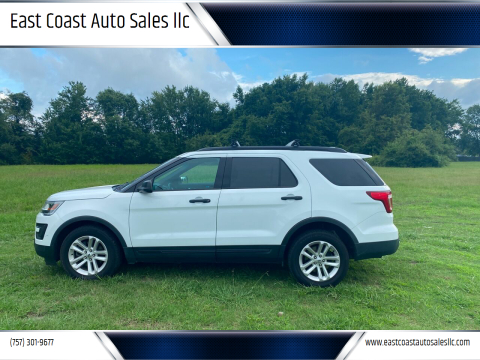 2016 Ford Explorer for sale at East Coast Auto Sales llc in Virginia Beach VA