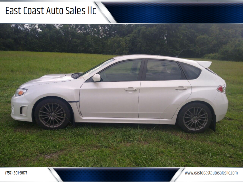 2012 Subaru Impreza for sale at East Coast Auto Sales llc in Virginia Beach VA