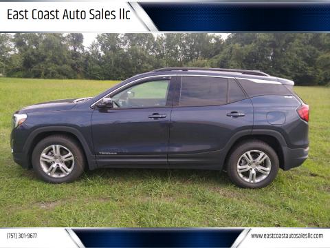 2018 GMC Terrain for sale at East Coast Auto Sales llc in Virginia Beach VA
