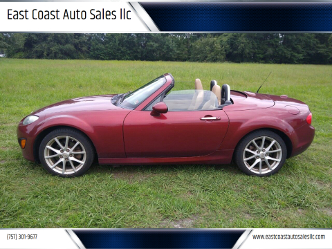 2012 Mazda MX-5 Miata for sale at East Coast Auto Sales llc in Virginia Beach VA