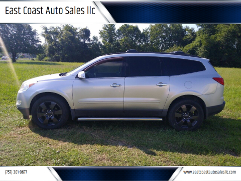 2011 Chevrolet Traverse for sale at East Coast Auto Sales llc in Virginia Beach VA
