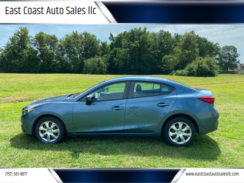 2015 Mazda MAZDA3 for sale at East Coast Auto Sales llc in Virginia Beach VA