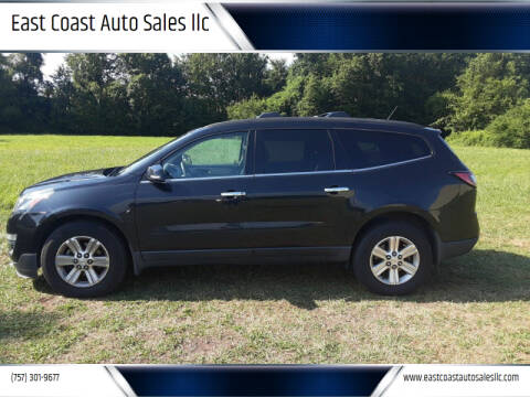 2014 Chevrolet Traverse for sale at East Coast Auto Sales llc in Virginia Beach VA