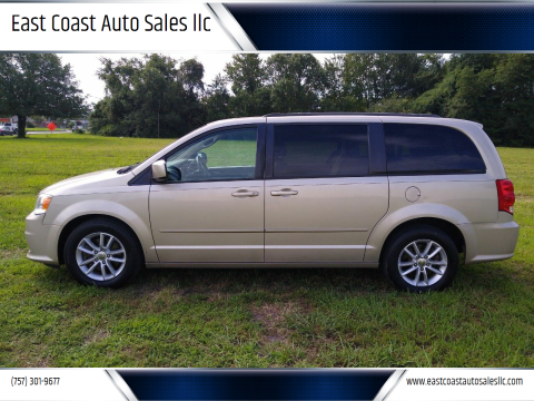 2014 Dodge Grand Caravan for sale at East Coast Auto Sales llc in Virginia Beach VA
