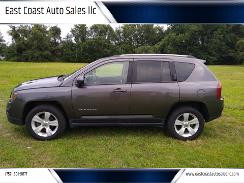 2016 Jeep Compass for sale at East Coast Auto Sales llc in Virginia Beach VA