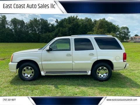 2006 Cadillac Escalade for sale at East Coast Auto Sales llc in Virginia Beach VA