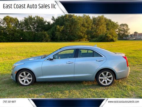 2013 Cadillac ATS for sale at East Coast Auto Sales llc in Virginia Beach VA