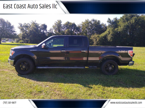 2011 Ford F-150 for sale at East Coast Auto Sales llc in Virginia Beach VA