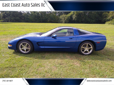 2002 Chevrolet Corvette for sale at East Coast Auto Sales llc in Virginia Beach VA
