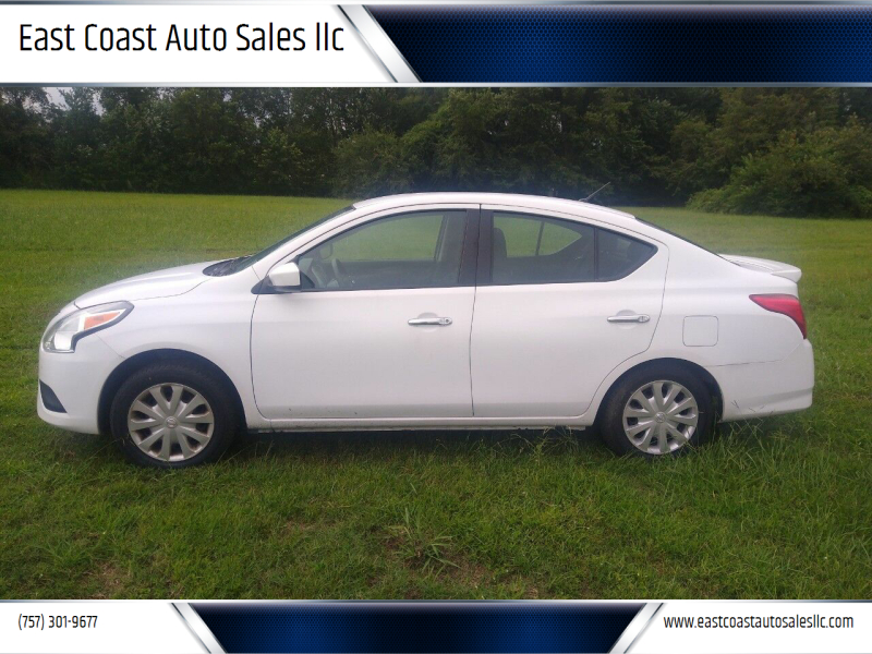 2017 Nissan Versa for sale at East Coast Auto Sales llc in Virginia Beach VA