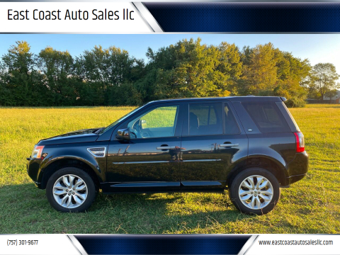 2011 Land Rover LR2 for sale at East Coast Auto Sales llc in Virginia Beach VA