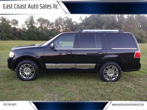 2008 Lincoln Navigator for sale at East Coast Auto Sales llc in Virginia Beach VA