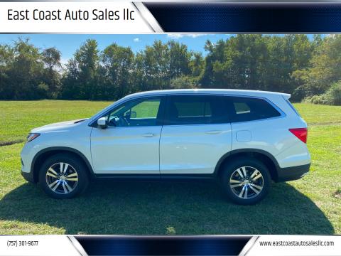 2016 Honda Pilot for sale at East Coast Auto Sales llc in Virginia Beach VA