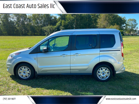 2017 Ford Transit Connect Wagon for sale at East Coast Auto Sales llc in Virginia Beach VA