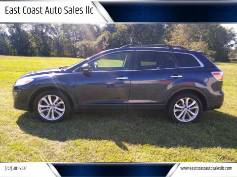2011 Mazda CX-9 for sale at East Coast Auto Sales llc in Virginia Beach VA