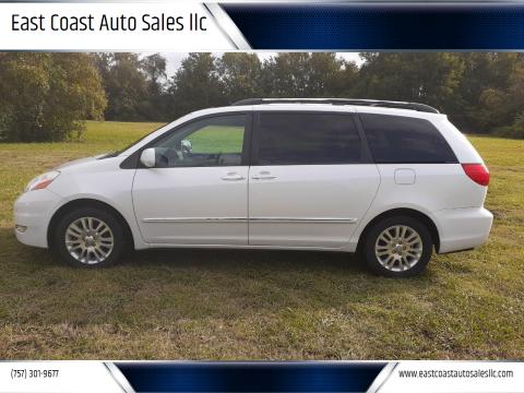 2008 Toyota Sienna for sale at East Coast Auto Sales llc in Virginia Beach VA