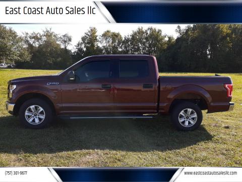 2016 Ford F-150 for sale at East Coast Auto Sales llc in Virginia Beach VA