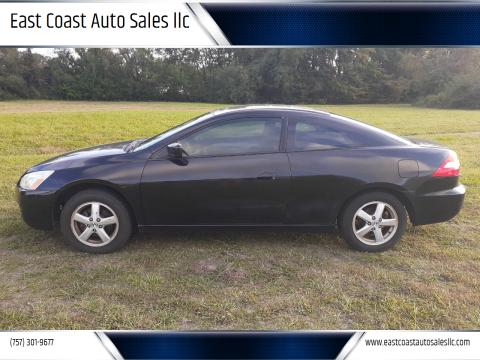 2004 Honda Accord for sale at East Coast Auto Sales llc in Virginia Beach VA