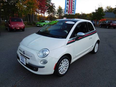 2012 FIAT 500 for sale in Loudon, NH
