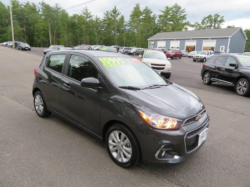 2017 chevrolet spark 1lt cvt 4dr hatchback in loudon nh jays auto truck sales llc. Black Bedroom Furniture Sets. Home Design Ideas