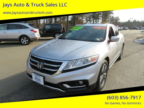 2013 Honda Crosstour for sale in Loudon, NH
