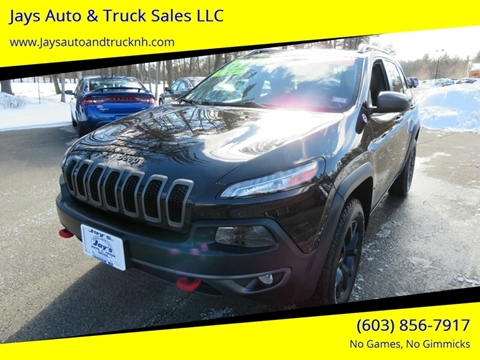 2014 Jeep Cherokee for sale in Loudon, NH