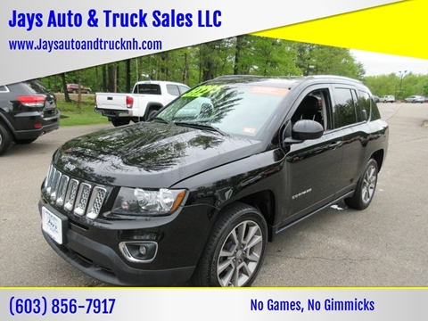 2016 Jeep Compass for sale in Loudon, NH