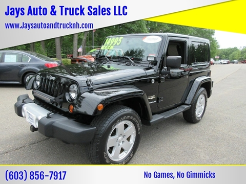 2011 Jeep Wrangler for sale in Loudon, NH