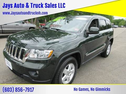 2011 Jeep Grand Cherokee for sale in Loudon, NH