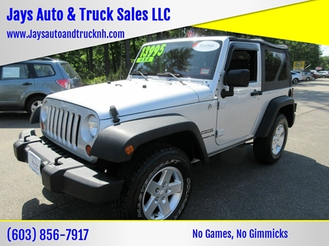 2010 Jeep Wrangler for sale in Loudon, NH
