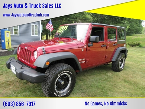 2011 Jeep Wrangler Unlimited for sale in Loudon, NH