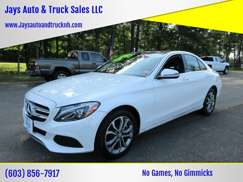 2016 Mercedes-Benz C-Class for sale in Loudon, NH