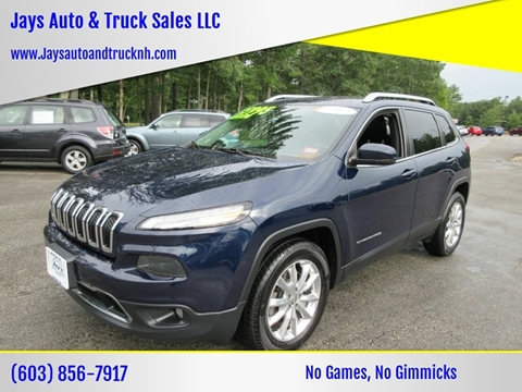 2015 Jeep Cherokee for sale in Loudon, NH